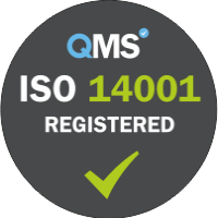 ISO 14001:2015 Registered cleaning company
